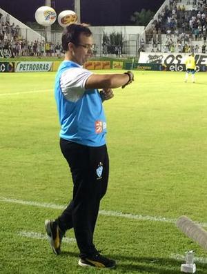 Dado Cavalcanti, técnico, Paysandu (Foto: Jocaff Souza)
