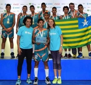 Lenderson da Silva, vôlei, piauí, Jogos Escolares da Juventude  (Foto: Ana Patrícia/COB )