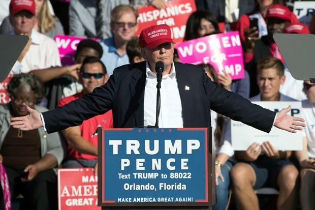 Trump centrou discursos em frustrações e inseguranças dos americanos (Foto: Matt Rourke/AP)