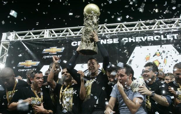 Ceará campeão cearense (Foto: Kid Júnior/Agência Diário)