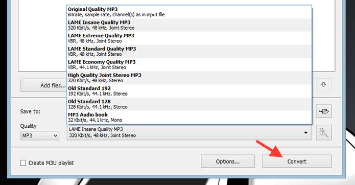 Iniciando a conversão de vídeo para MP3 com o Free Video To MP3 (Foto: Reprodução/Marvin Costa)