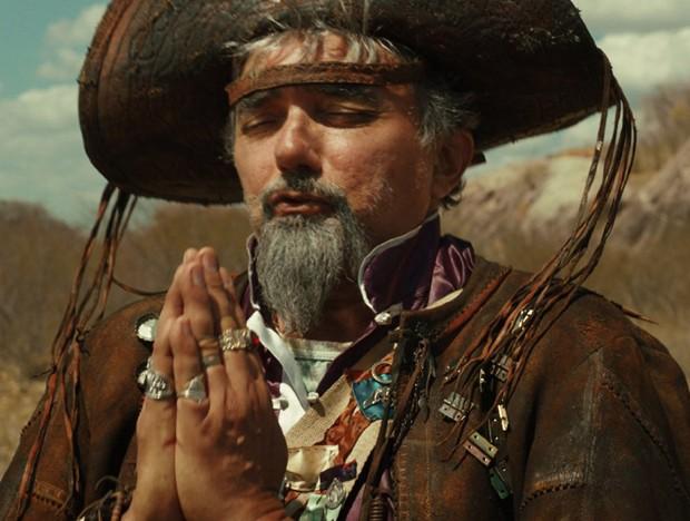 Falcão em cena do filme (Foto: Divulgação)