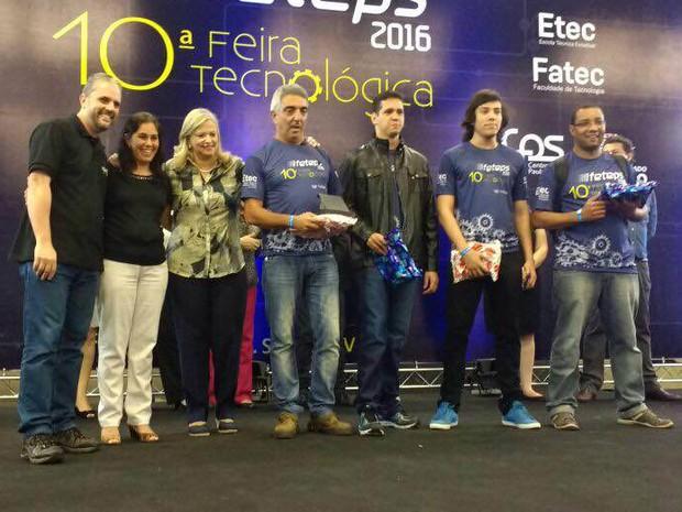 Premiação ocorreu na noite de sexta-feira (22), em São Paulo (Foto: Guilherme Francelino/Arquivo Pessoal)