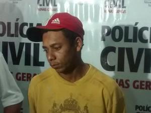 Marcelo Júnior de Almeida confessou que matou o próprio irmão, mas negou participação em outros três crimes. (Foto: Diego Souza/G1)