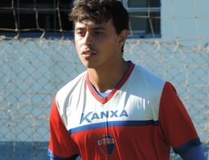 Gustavo Laguna, meia-atacante, Grêmio Prudente (Foto: Murilo Rincon / GloboEsporte.com)