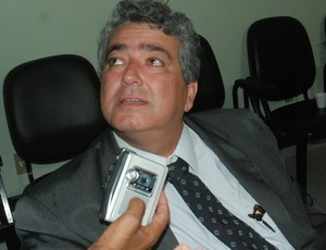 Ariano Wandereley, interventor da FPF (Foto: Pedro Alves / GloboEsporte.com/pb)