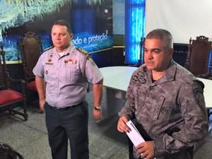 PM diz que ações pontuais estão ocorrendo para evitar novos ataques (Foto: Graziela Rezende/G1 MS)