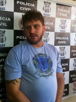 Leandro Lentz Bittencourt, o 'galã do Facebook', tinha sido preso em fevereiro deste ano, por estelionato (Foto: Tiago Melo/G1 AM)