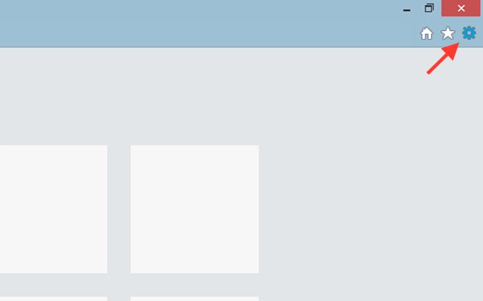 Acessando as opções do Internet Explorer para abrir uma navegação anônima (Foto: Reprodução/Marvin Costa)