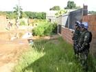 Em treino para missão no Haiti, Exército simula evacuação em MT