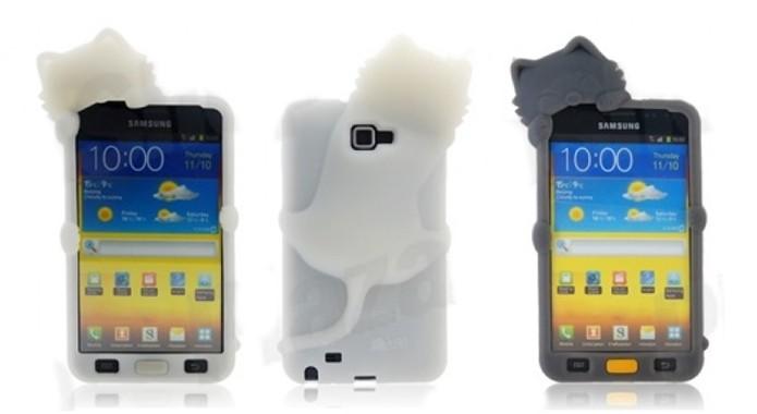 Case de silicone para Galaxy Note do Gatinho Kiki (Foto: Divulgação/Plazza Shop)