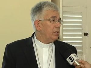 Dom Belisário explica sobre a Campanha da Fraternidade 2013 (Foto: Reprodução/TV Mirante)