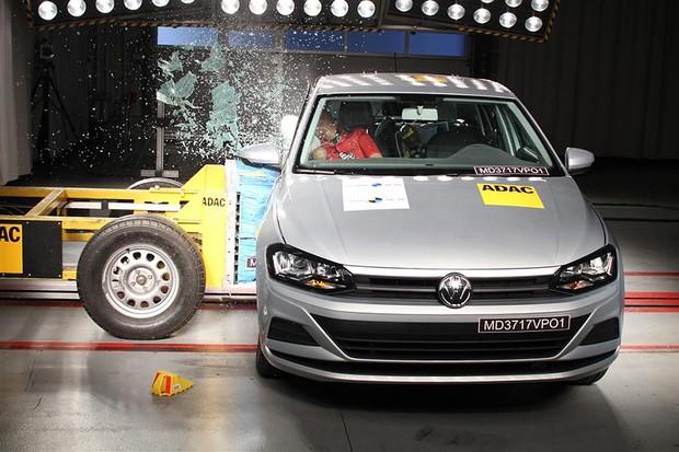 Teste de Colisão - Volkswagen Polo (Foto: Divulgação)