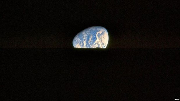 Este é uma das imagens preferidas de Kipp Teague, feita pela tripulação da Apollo 17 (Foto: Nasa/Project Apollo Archive)