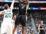 Spurs mostram força, viram e passam com autoridade pelo Jazz em Utah