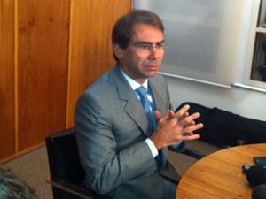 Advogado de José Dirceu, José Oliveira Lima (Foto: Roney Domingos/G1)