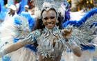 Nenê abre 2° dia de desfiles no Anhembi (Raul Zito/G1)