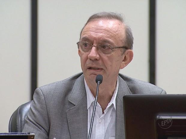 Francisco Sério Nalini, secretário da Fazenda de Ribeirão Preto, SP (Foto: Reprodução/EPTV)