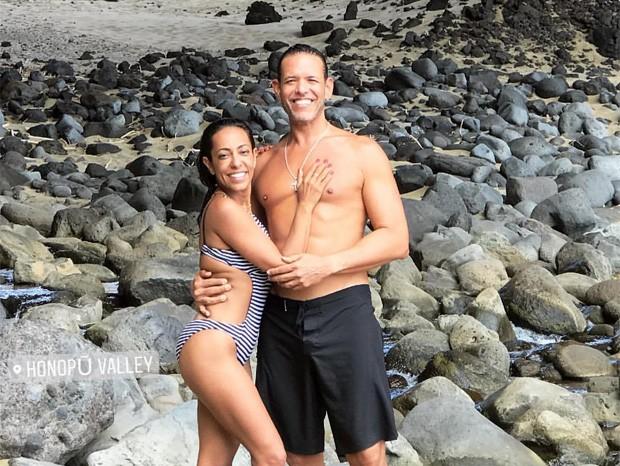 Samantha Schmütz e o marido, Michael Cannet (Foto: Reprodução/Instagram)