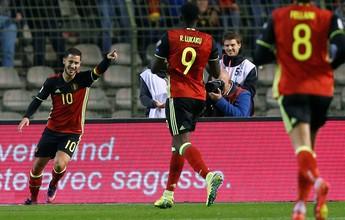 Bélgica e Grécia vencem e lideram Grupo H das eliminatórias europeias