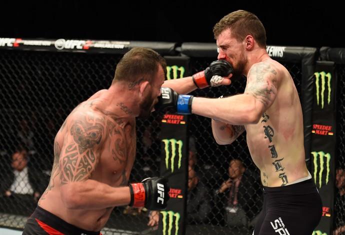 Mark Godbeer Daniel Spitz UFC 209 (Foto: Getty Images)