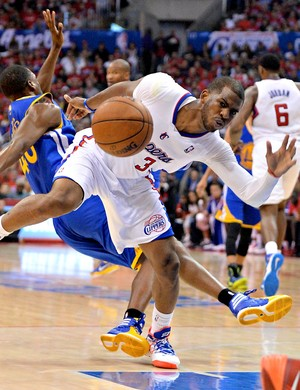 Chris Paul, Los Angeles Clippers x Golden State Warriors (Foto: Agência Reuters)