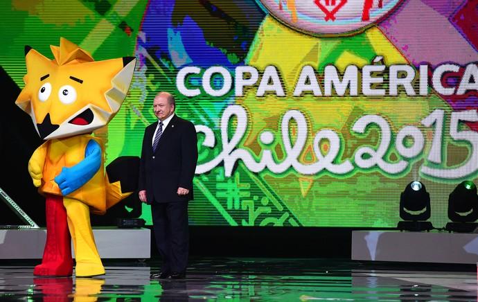 Mascote copa américa 2015 chile (Foto: Agência AFP )