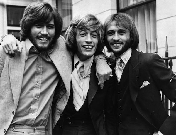 Os membros do Bee Gees (Foto: Getty Images)