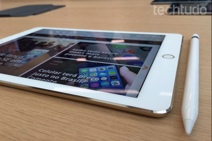 iPad Pro 9.7'' (Foto: Thássius Veloso/TechTudo)