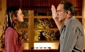 Em cena emocionante, Virgílio quase dá tapa em Luiza; reveja!