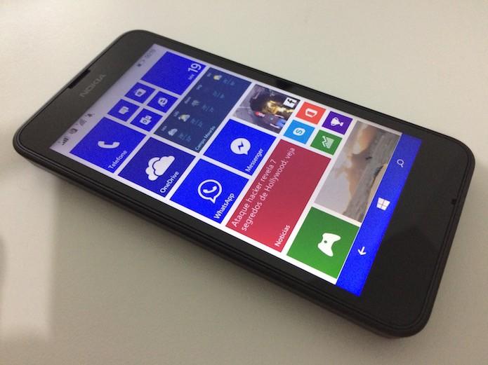 Aprenda a alterar a cor de fundo do Windows Phone (Foto: Reprodução/Helito Bijora)
