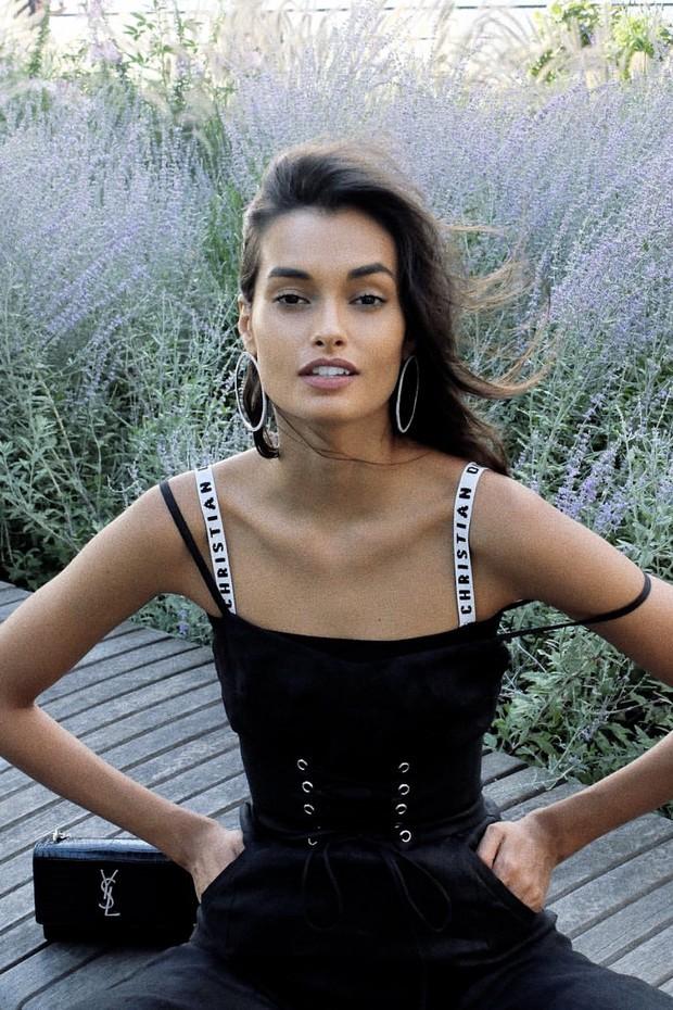 A modelo brasileira Gisele Oliveira (Foto: Divulgação)