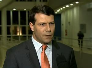 Leonardo Gaciba, comentarista de arbitragem (Foto: Reprodução/SporTV)