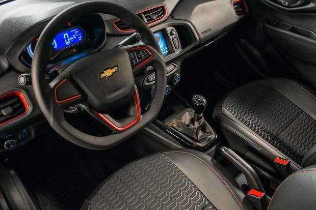 Chevrolet Onix Effect 2018 (Foto: Divulgação)