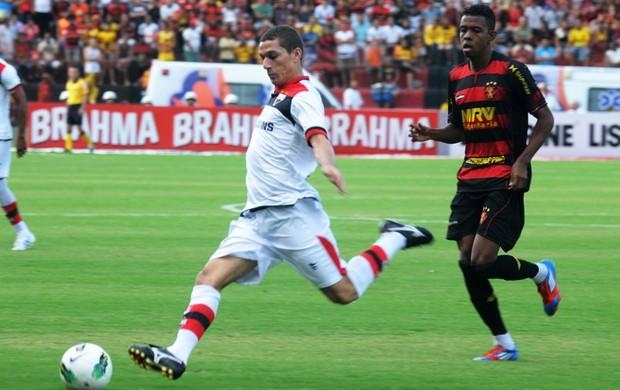 Sport x Atlético-GO (Foto: Aldo Carneiro / Pernambuco Press)