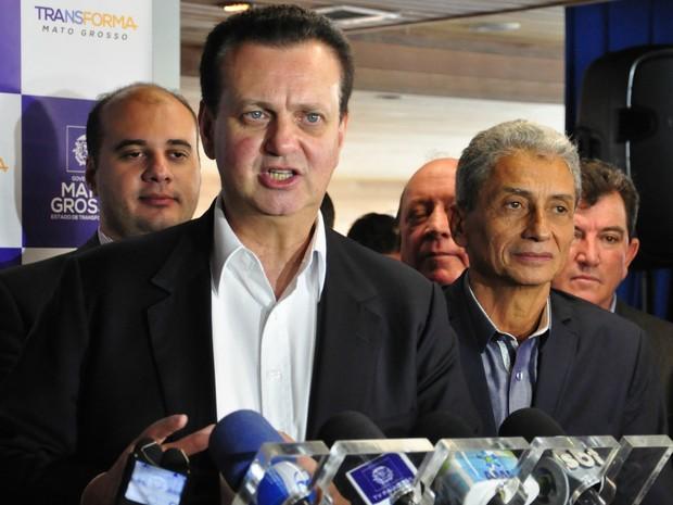 Ministro das Cidades, Gilberto Kassab (PSD), criticou a falta de bons projetos por parte dos municípios (Foto: Lislaine dos Anjos/G1)