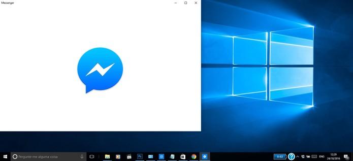 Veja como silenciar notificações no Facebook Messenger para PC Windows 10 (Foto: Reprodução/Barbara Mannara)