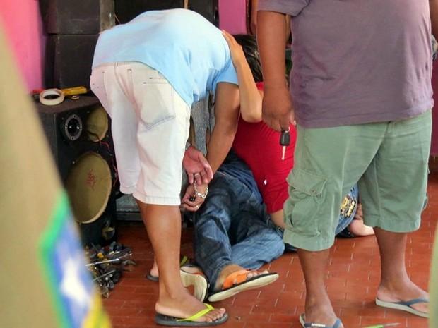 Vítima identificada como Maicon dos Santos Aragão. (Foto: Kairo Amaral/PortalCostaNorte)