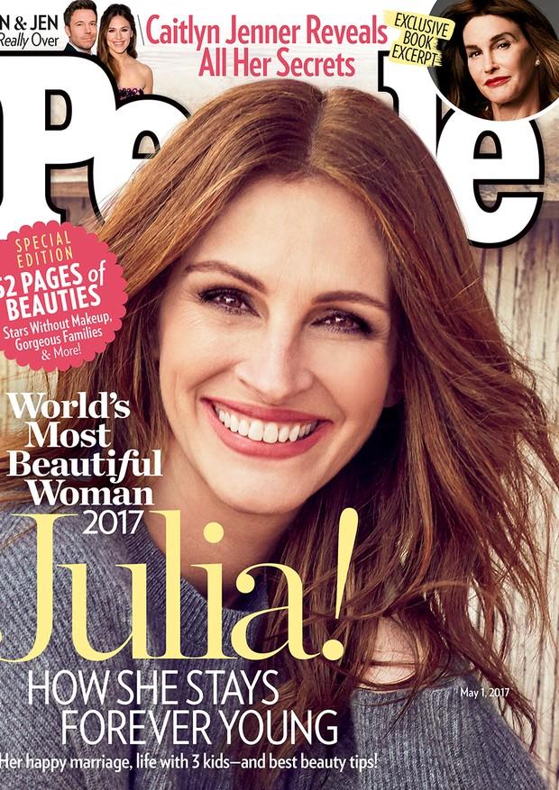 Julia Roberts na capa da revista People (Foto: Reprodução)