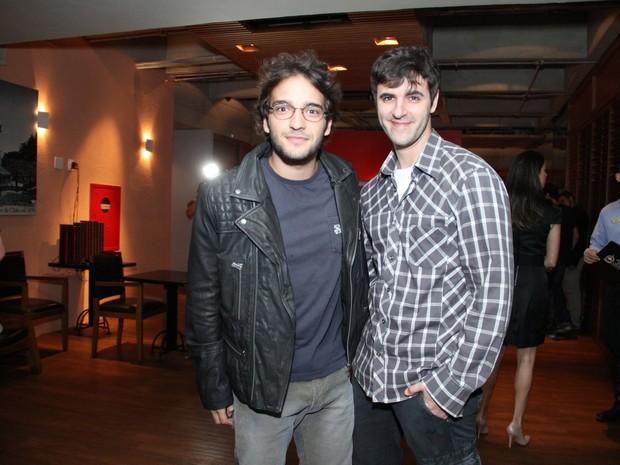 Humberto Carrão e Rodrigo Lopes (Foto: Raphael Mesquita e Thaygo ANdrade/ Foto Rio News)