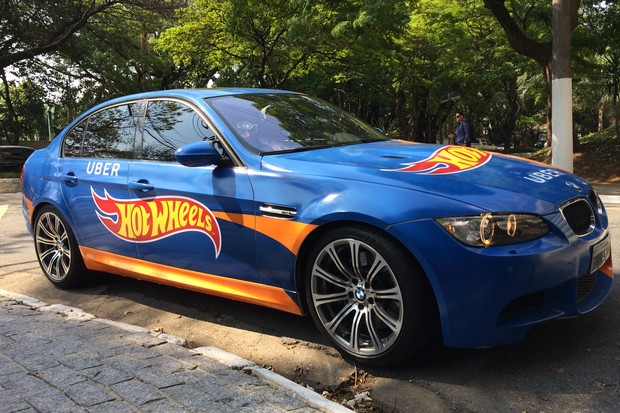 Hot Wheels Uber (Foto: Julia Gianesi/ Autoesporte)