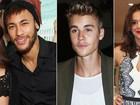 Neymar, Bieber e Marquezine são celebs mais vistas, segundo aplicativo