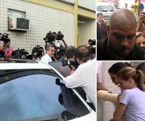 adriano acareação carro (Foto: G1/TV Globo)
