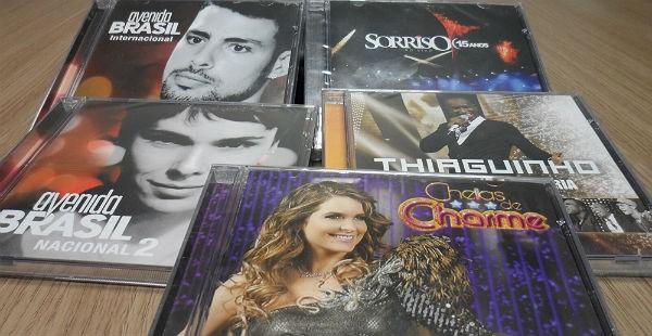Promoção de CDs (Foto: Divulgação)