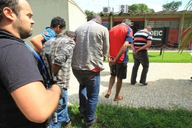 Morto em Goiás Fredson Guimarães da Silva, suspeito tido como um dos maiores ladrões de banco do país (Foto: Diomício Gomes/O Popular)