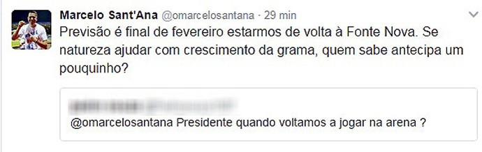 Marcelo Sant'Ana; Twitter (Foto: Reprodução)