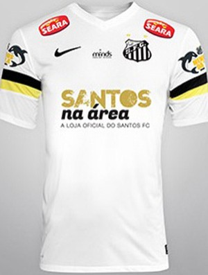 7fd4499b6 Santos encara Fluminense com marca da loja oficial do clube ...