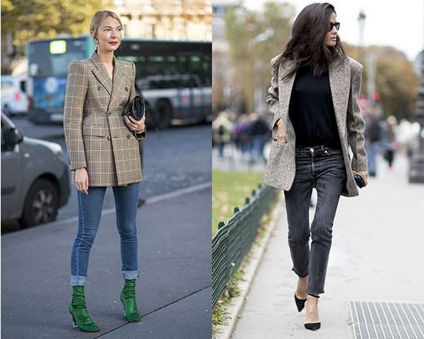 Variar o comprimento da calça, optando por versões cropped ou cigarette também são uma opção (Foto: Imaxtree)
