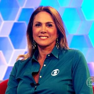 Hortência no Corujão do Esporte (Foto: Reprodução TV Globo)
