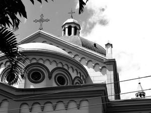 Leila Sílvia registra detalhe de um dos símbolos de Pouso Alegre, MG, a Catedral Metropolitana (Foto: Leila Sílvia/ Divulgação)